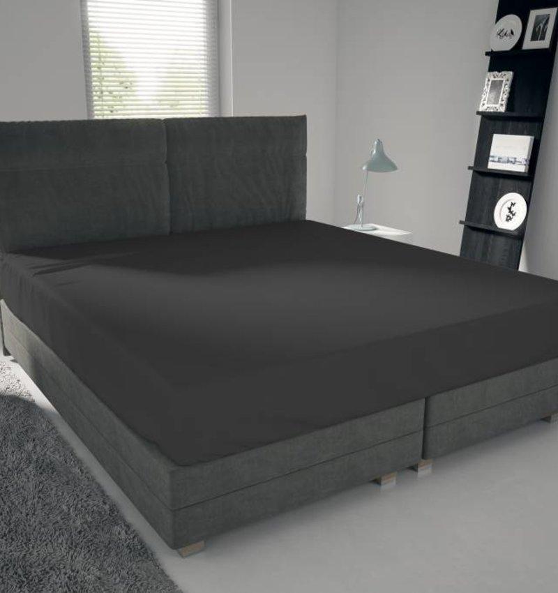 Nightlife Jersey Bettlaken / Spannbetttuch 150 gramm Dunkelgrau