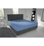 Nightlife Jersey Bettlaken / Spannbetttuch 150 gramm Blau