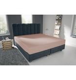 Nightlife Blue Bettlaken / Spannbettuch Doppel Jersey Interlock Rosa