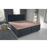Nightlife Blue Bettlaken / Spannbettuch Doppel Jersey Interlock Rosa Topper