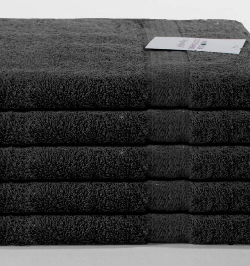 Nightlife Fresh Handtuch Schwarz 5-Pack