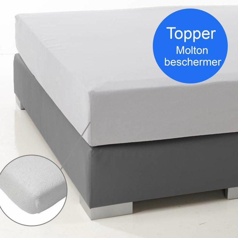 Nightlife Molton Matratzenschoner fur topper 230 Gramm