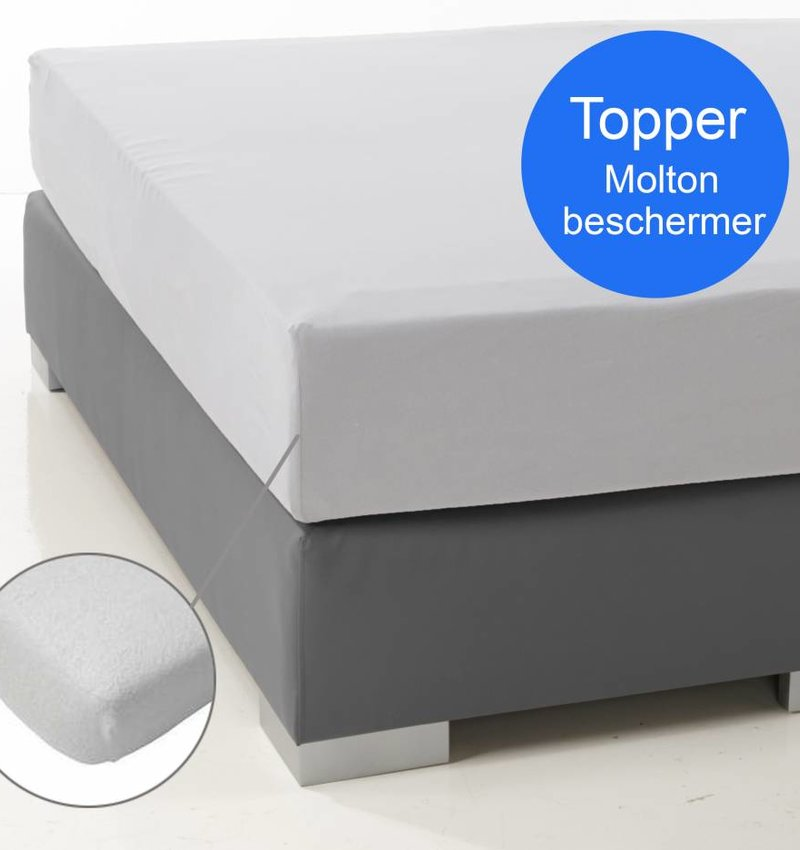 Nightlife Molton Matratzenschoner fur topper 230 Gramm