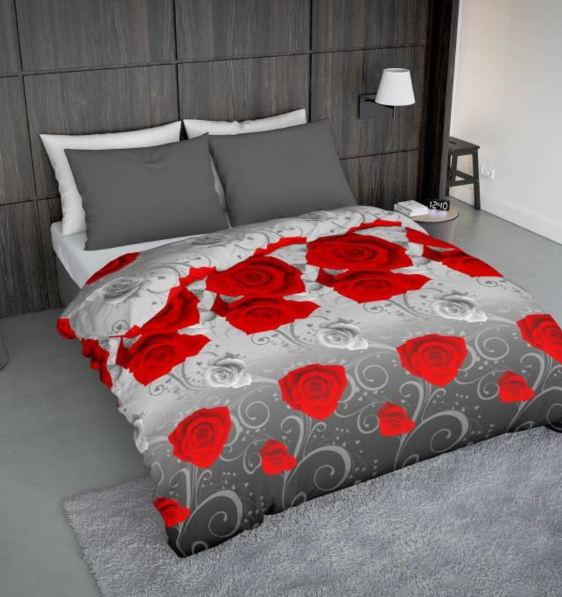 bettw sche rosie rot eu nightlifeliving. Black Bedroom Furniture Sets. Home Design Ideas