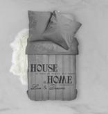 Nightlife Bettwäsche House Of Bricks Grau - DE - 135x200 - 80x80 (1) mit Reissverschluss