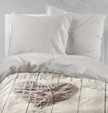 Nightlife Bettwäsche Home Is Wood Braun - DE - 135x200 - 80x80 (1) mit Reissverschluss