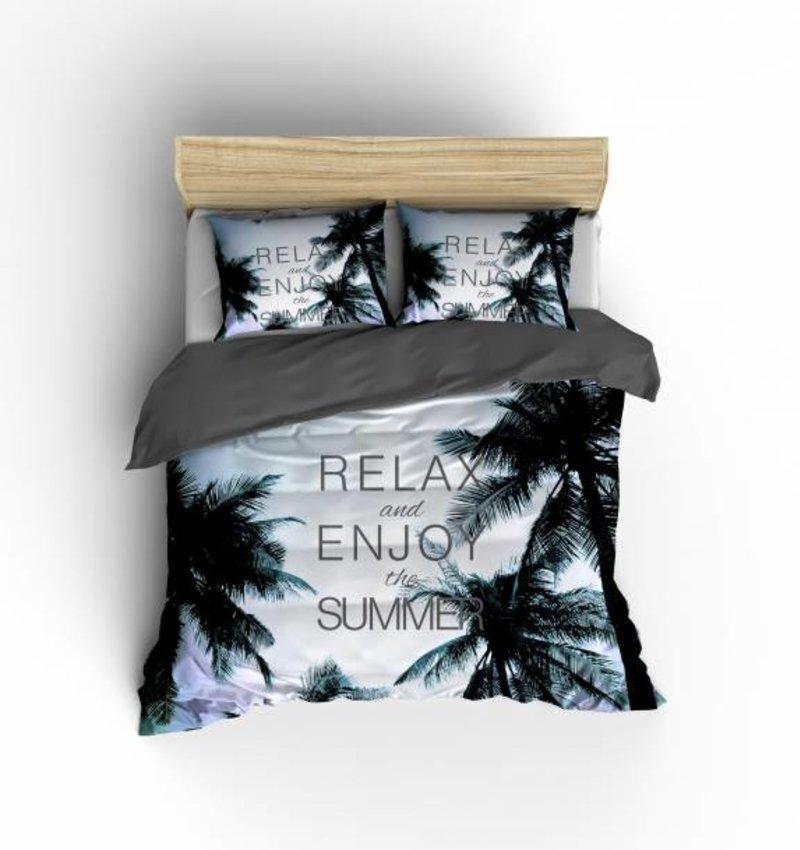 Nightlife Concept Bettwäsche Summerjam Blau - EU