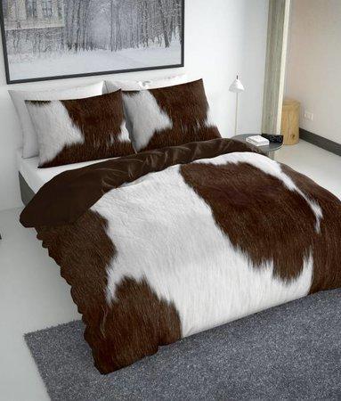 Nightlife Concept Bettwäsche Cow Braun - EU