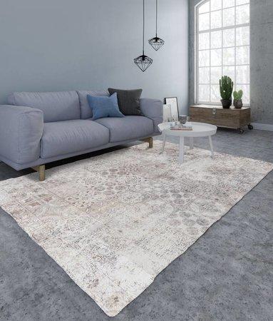 Nightlife Home Teppich Mozaik Braun
