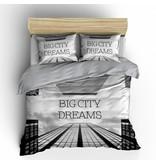 Nightlife Blue Bettwäsche Big City Dreams Grau - DE / PL