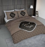 Nightlife Concept Bettwäsche Goodnight Barok Braun 200x200/220 60x70 (2)