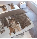 Nightlife Bettwäsche Wolf 200x200/220 60x70 (2)