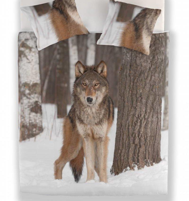 Nightlife Bettwäsche Wolf 240x200/220 60x70 (2)