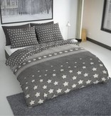 Nightlife Fresh Bettwäsche Herring Stars Dunkelgrau 240x200/220 60x70 (2)