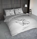 Nightlife Concept Bettwäsche Butterfly Grau 200x200/220 60x70 (2)