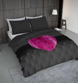 Nightlife Concept Bettwäsche Fur Heart Fuchsia Rosa 200x200/220 60x70 (2)
