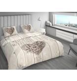 Nightlife Bettwäsche Home Is Wood Braun 200x200/220 60x70 (2)