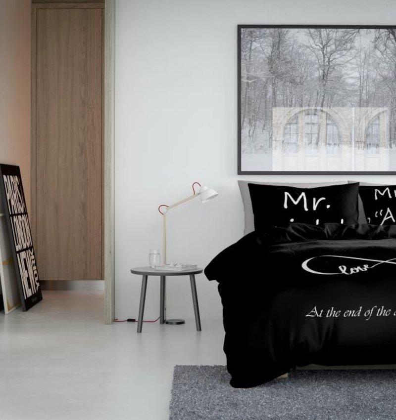 Nightlife Concept Bettwäsche Infinity Schwarz 240x200/220 60x70 (2)