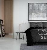 Nightlife Concept Bettwäsche Keep Calm Schwarz 140x200/220 60x70 (1)