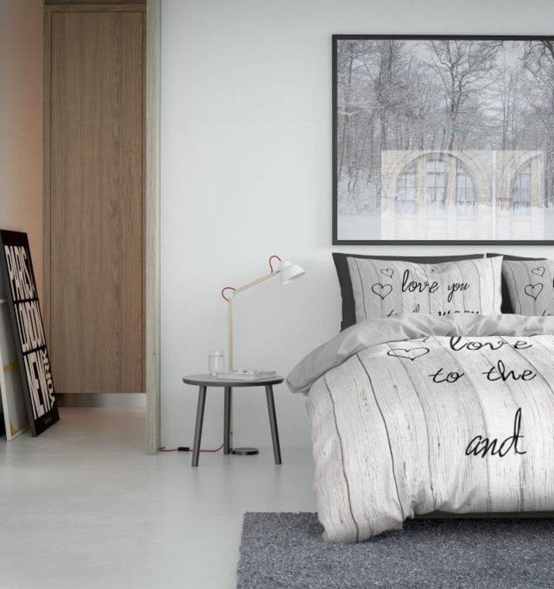 Nightlife Concept Bettwäsche Lovemoon Weisswash 200x200/220 60x70 (2)