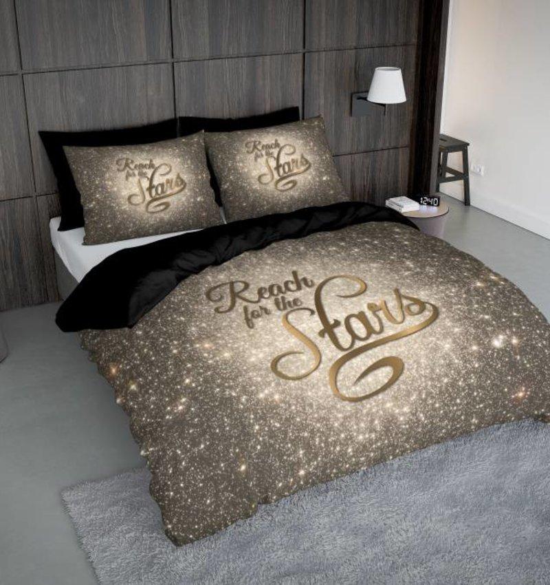 Nightlife Concept Bettwäsche Reach Stars Gold 140x200/220 60x70 (1)