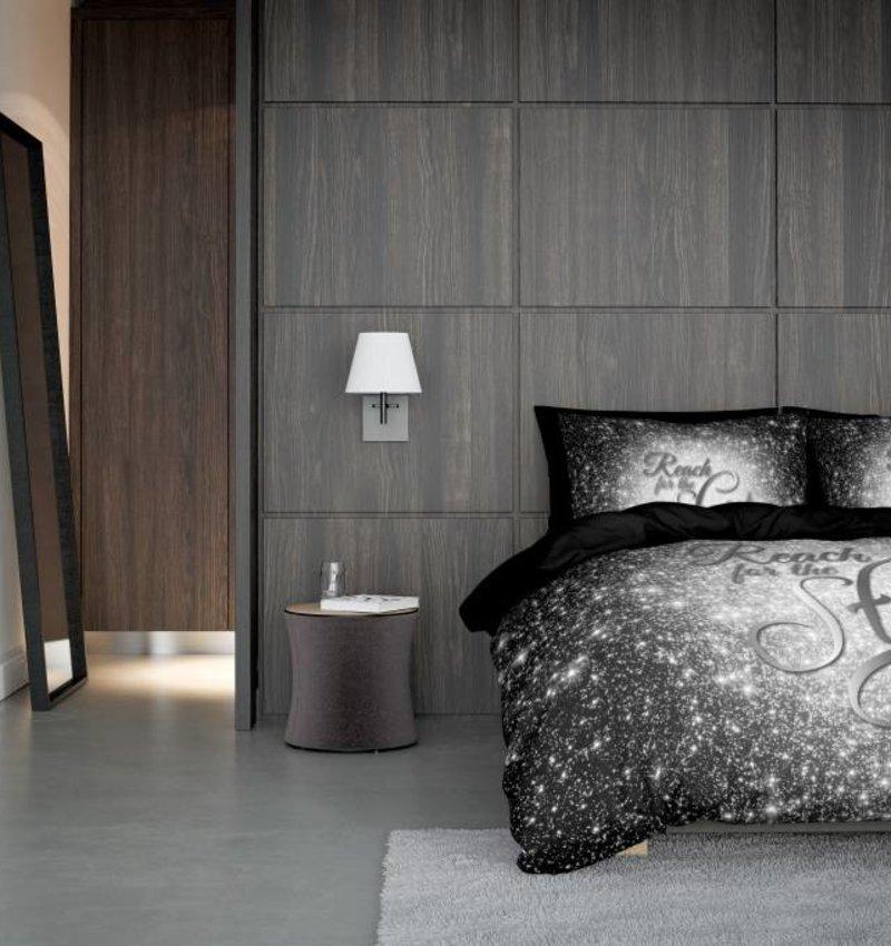 Nightlife Concept Bettwäsche Reach Stars Silber 140x200/220 60x70 (1)