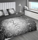 Nightlife Concept Bettwäsche Reach Stars Silber 200x200/220 60x70 (2)