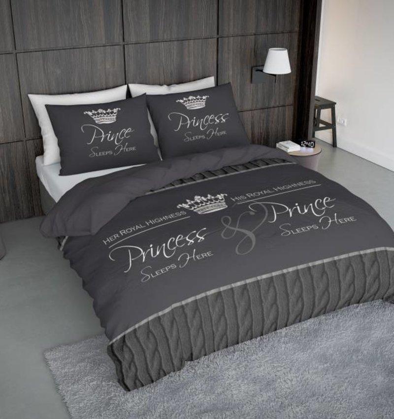 Nightlife Concept Bettwäsche Royalties Dunkelgrau 200x200/220 60x70 (2)