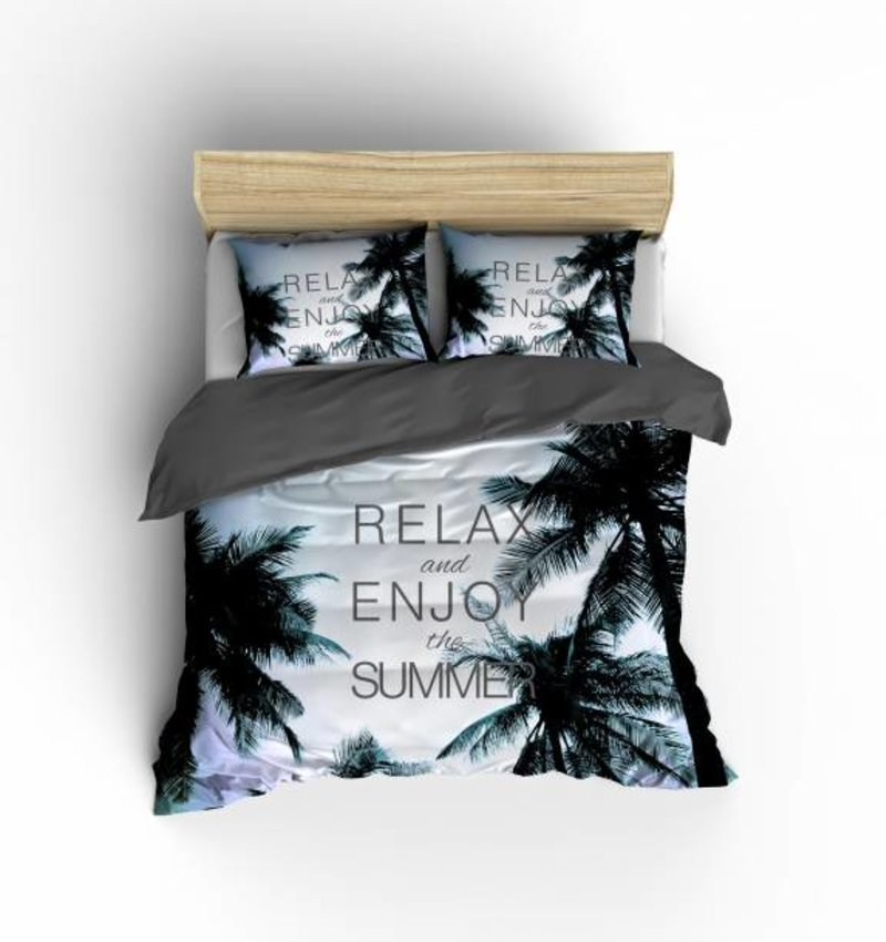 Nightlife Concept Bettwäsche Summerjam Blau 200x200/220 60x70 (2)