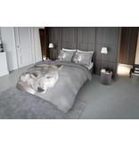Nightlife Concept Bettwäsche Weiss Wolf 200x200/220 60x70 (2)