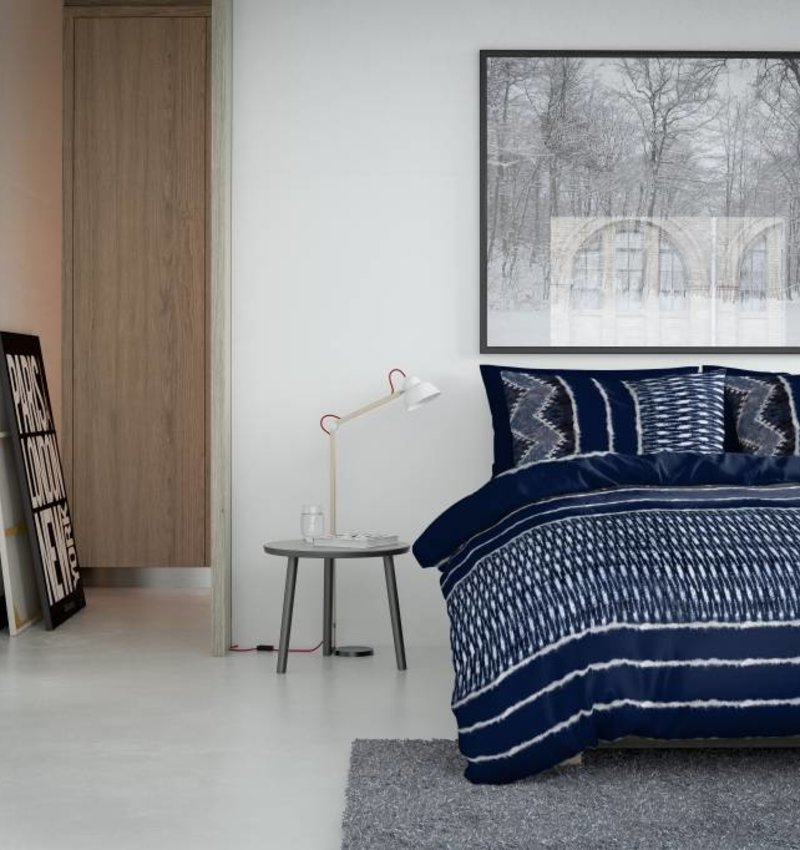 Nightlife Fresh Bettwäsche Indigo Blau 260x200/220 60x70 (2)