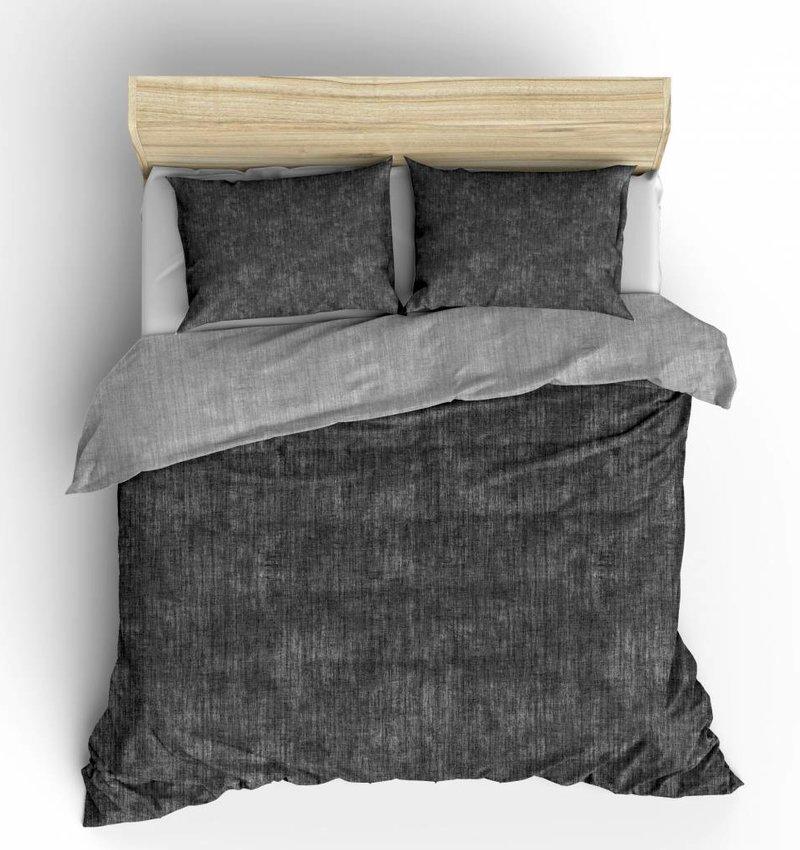 Nightlife Fresh Bettwäsche Washcotton Dunkelgrau 240x200/220 60x70 (2)