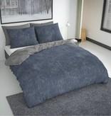 Nightlife Fresh Bettwäsche Washcotton Blau Grau 200x200/220 60x70 (2)