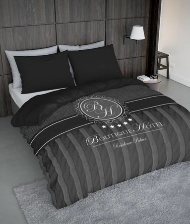 Nightlife Concept Boutique Hotel Dunkelgrau 200x200 80x80 (2) mit Reissverschluss