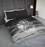 Nightlife Concept Bettwäsche Sky Grau 200x200 80x80 (2) mit Reissverschluss