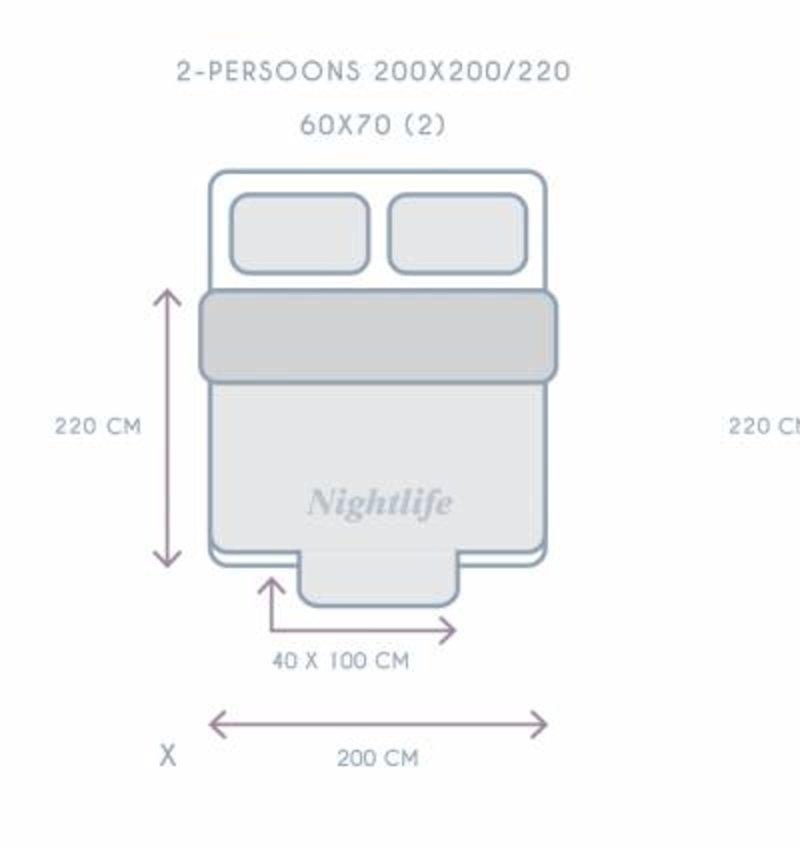 Nightlife Concept Bettwäsche Infinity fr Schwarz 240x200/220 60x70 (2)