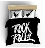 Nightlife Concept Bettwäsche Rock N Roll Schwarz 140x200/220 60x70 (1)