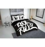 Nightlife Concept Bettwäsche Rock N Roll Schwarz 240x200/220 60x70 (2)