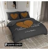 Pierre Cardin Bettwäsche Him / Her Dunkel Grau Gold EU