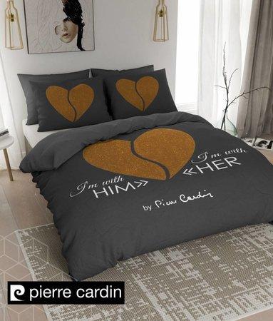 Pierre Cardin Him / Her Dunkel Grau Gold EU