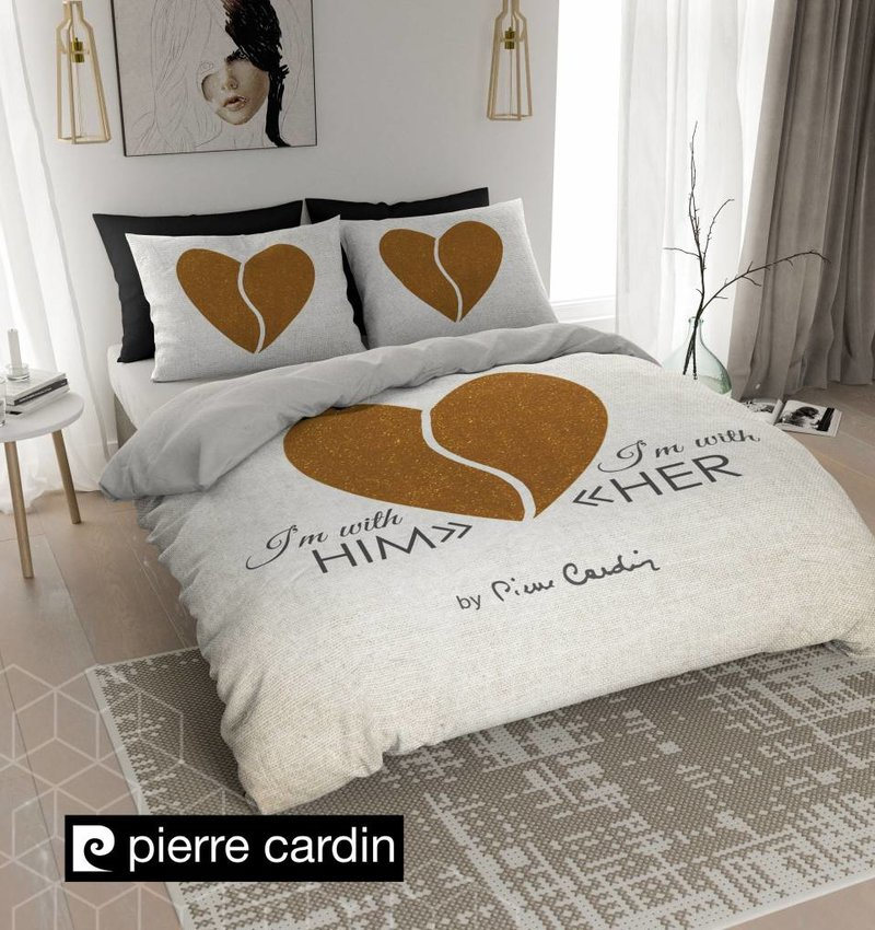 Pierre Cardin Bettwäsche Him Her Ecru Gold De Pl Nightlifeliving