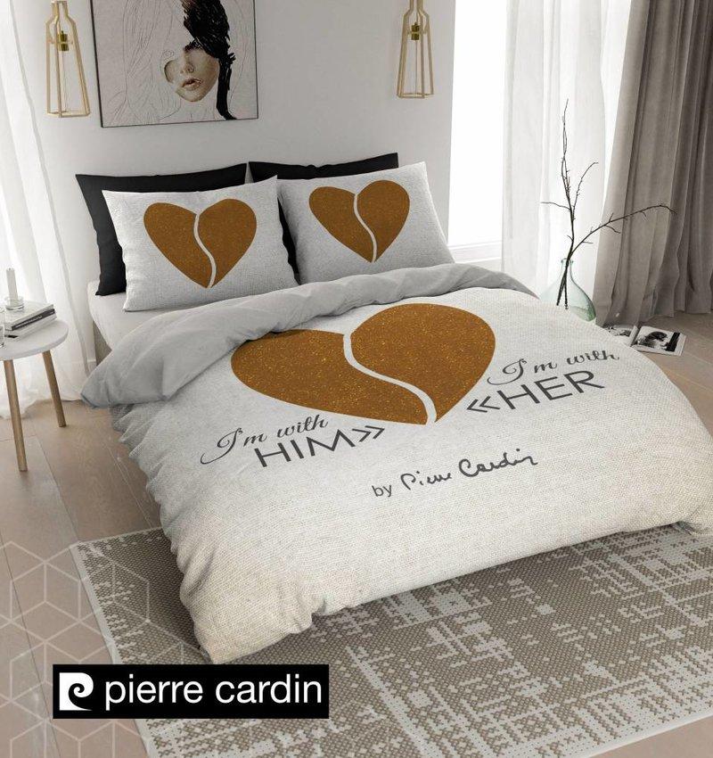 Pierre Cardin Bettwäsche Him / Her Ecru Gold EU