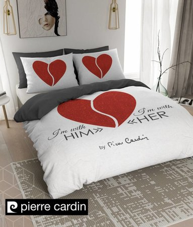 Pierre Cardin Him / Her Weiß Rot EU