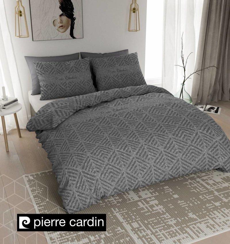 Pierre Cardin Bettwäsche Jersey Leaf Dunkel Grau DE / PL