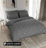 Pierre Cardin Bettwäsche Jersey Leaf Dunkel Grau EU