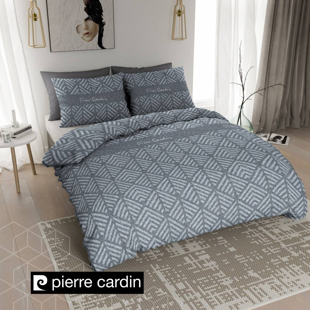 pierre cardin bettw sche jersey leaf blau de pl nightlifeliving. Black Bedroom Furniture Sets. Home Design Ideas