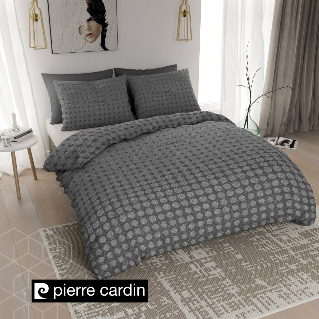 pierre cardin bettw sche jersey look dunkel grau de pl nightlifeliving. Black Bedroom Furniture Sets. Home Design Ideas