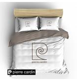 Pierre Cardin Bettwäsche Logo Weiß / Braun DE / PL