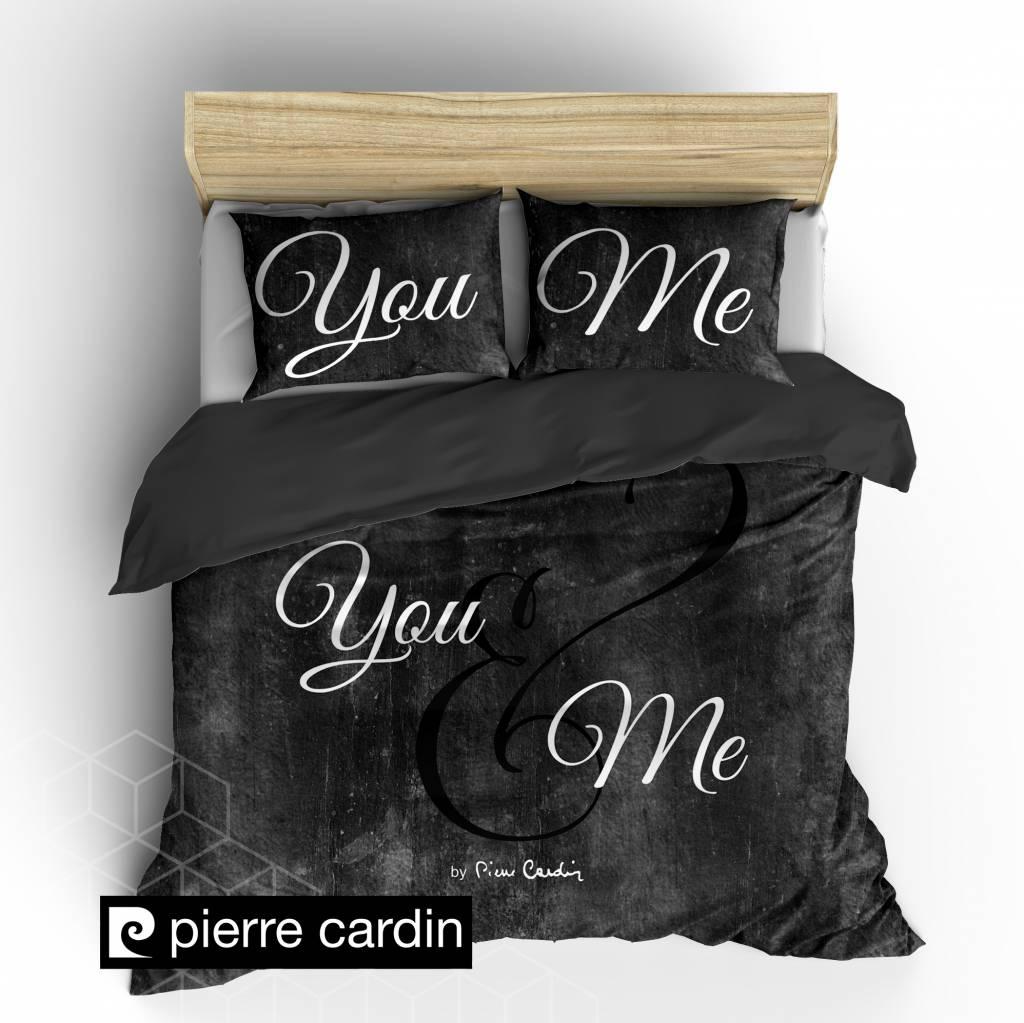 pierre cardin bettw sche stone look dunkel grau eu nightlifeliving. Black Bedroom Furniture Sets. Home Design Ideas