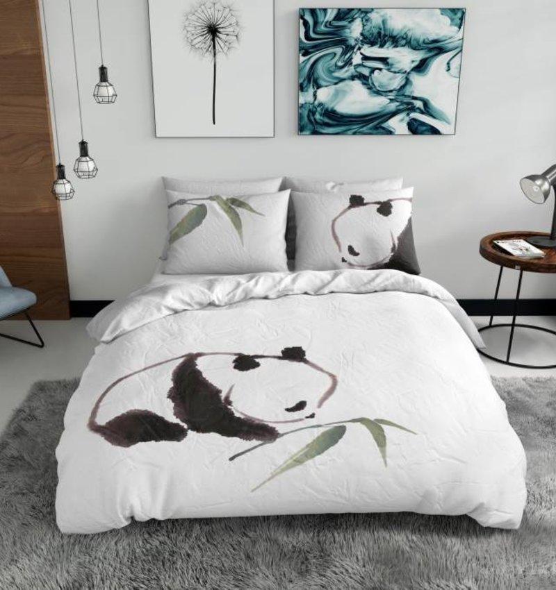 Nightlife Blue Bettwäsche Panda - DE